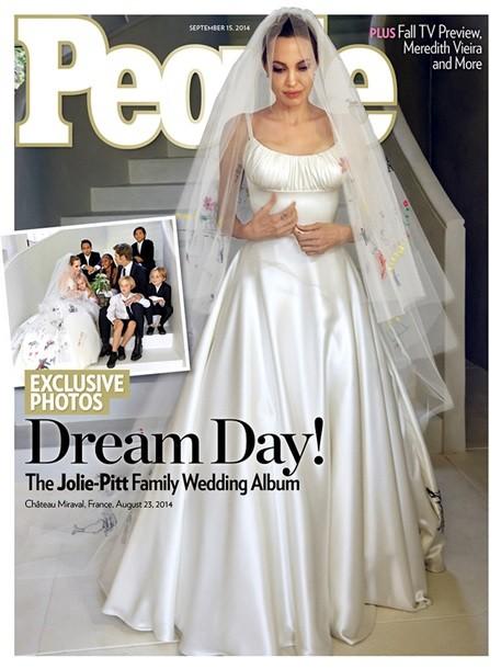 ФОТО: Первые фото со свадьбы Брэда Питта и Анджелины Джоли