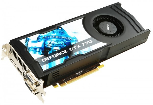 NVIDIA снизила цену на GeForce GTX 770 2 ГБ
