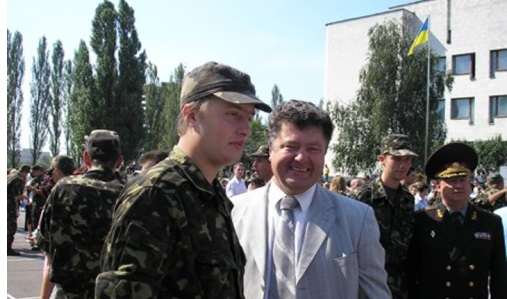 Жена Порошенко подтвердила: Сын Президента в зоне АТО (ФОТО)