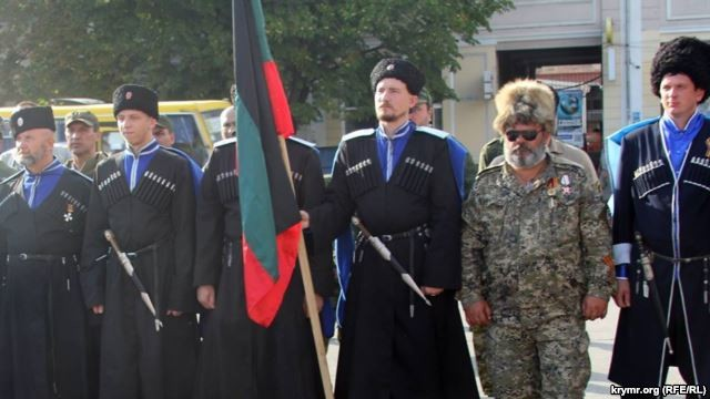 Террорист Бабай разгуливает в центре Симферополя