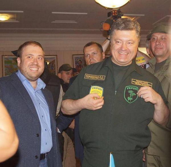 Порошенко утверждает, что он УКРОП (ФОТО)