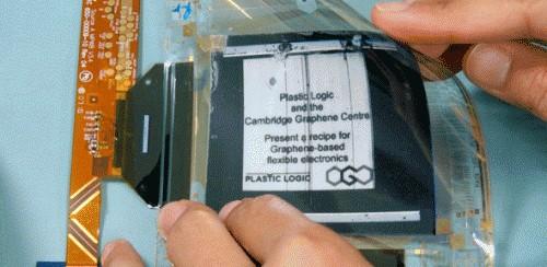 Первый прототип гибкого дисплея на графене