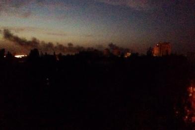 В Донецке горит аэропорт (ФОТО)