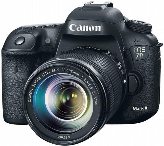 Представлен зеркальный фотоаппарат Canon EOS 7D Mark II