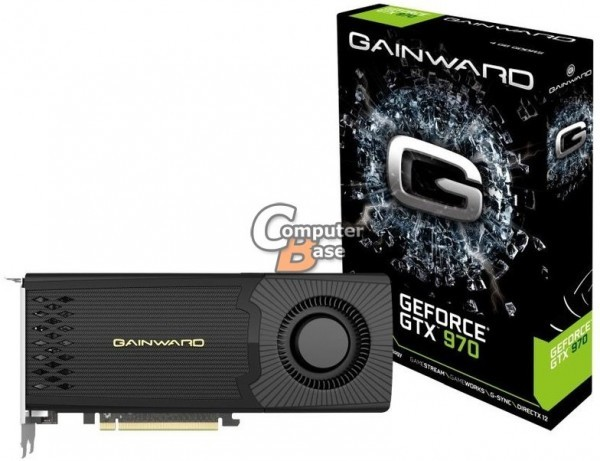 ASUS и Gainward представили версии GeForce GTX 980 и GTX 970