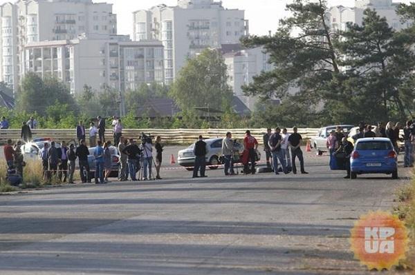 ФОТО с места гибели Андрея Гусина