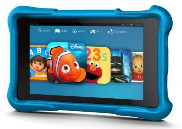 Неубиваемый планшет для детей Amazon Fire HD Kids Edition
