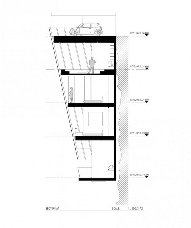 Удивительный дом построен прямо над пропастью (ФОТО)