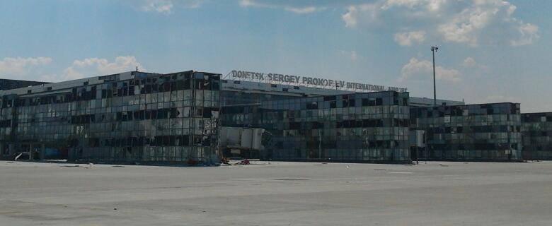 ФОТО: От аэропорта в Донецке ничего не осталось