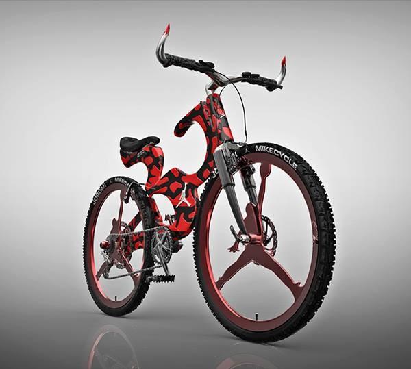 Уникальный велосипед для любителей баскетбола