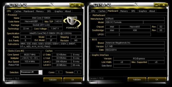 РЕКОРД: Core i7-5960X разогнан до 6620,73 МГц!