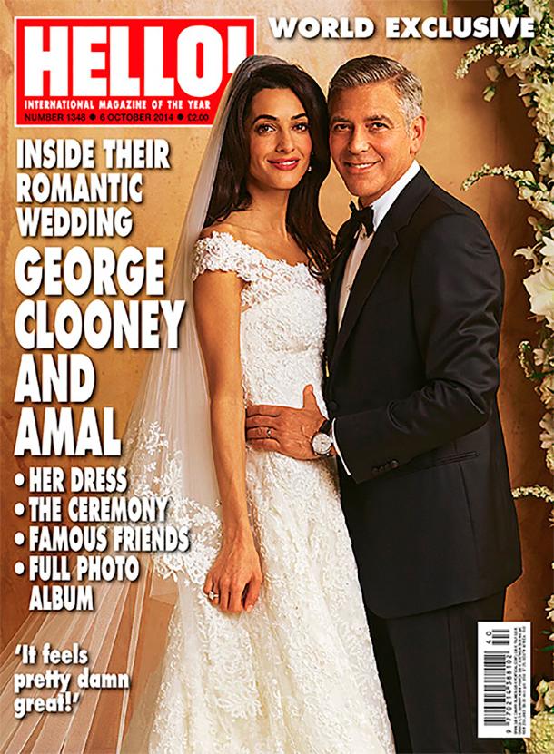 Питт и Джоли не появились на свадьбе Клуни