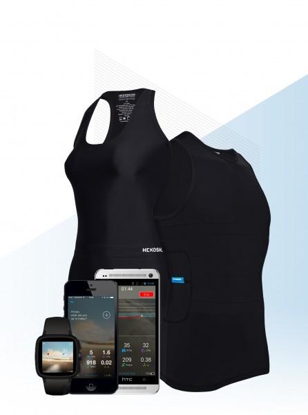 Hexoskin – биометрическая футболка с интеллектом