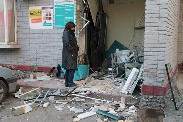 В РФ участились случаи взрывов банкоматов