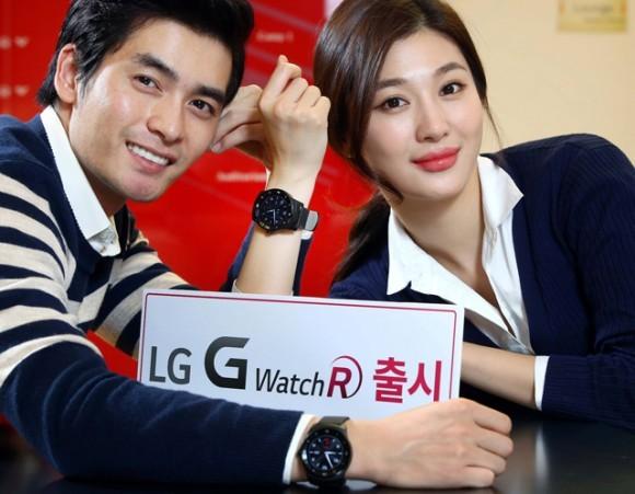Смарт-часы LG G Watch R появятся 14 октября