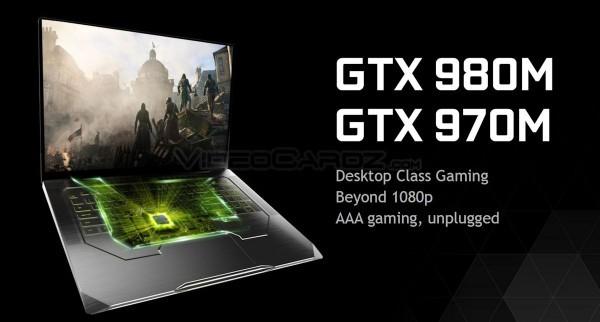 NVIDIA представила мобильный GeForce GTX 980M и GTX 970M