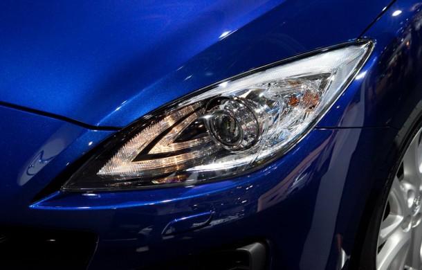 Mazda adaptive LED Headlight: новые светодиодные фары