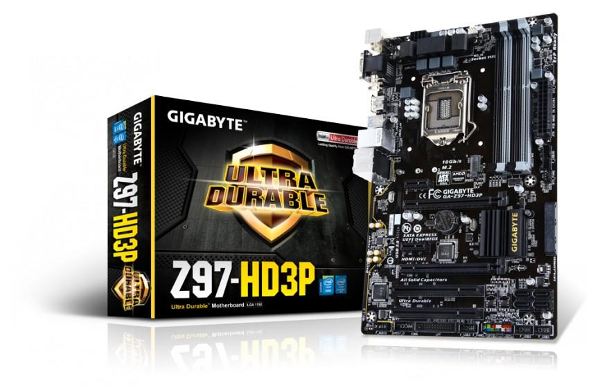 Gigabyte GA-Z97-HD3P под Intel Haswell для экономных
