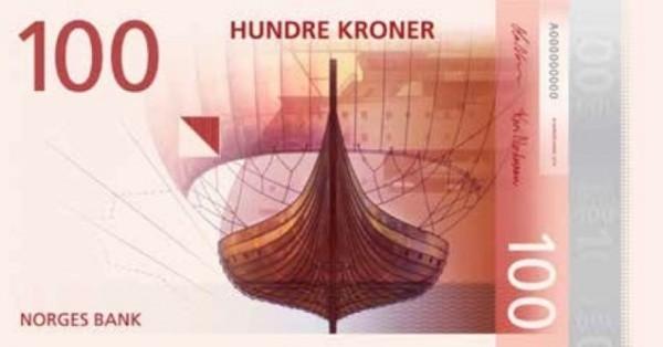 ФОТО: Новые норвежские кроны поражают абстракционизмом