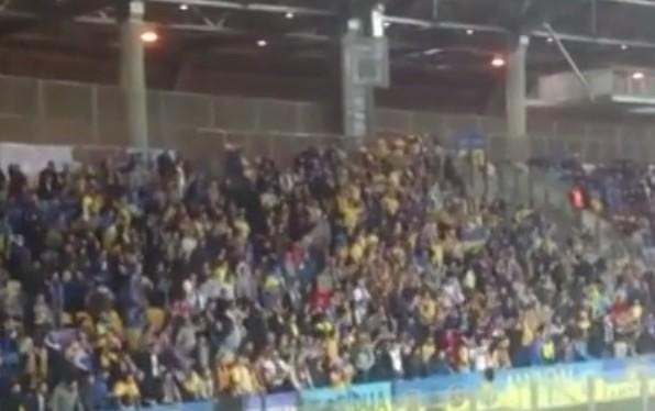 Более 100 украинских фанатов задержаны в Беларуси (ВИДЕО)
