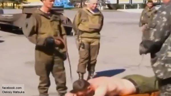 Казаки за пьянство нарядили террористов в лифчики и юбки
