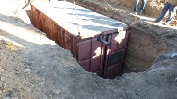 Блокпосты в Мариуполе утепляют в ожидании похолодания