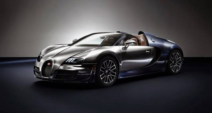 ФОТО: Bugatti продемонстрировала свежую уникальную версию Veyron
