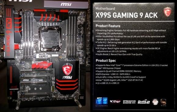 MSI X99С Gaming 9 ACK: Оплата с Killer DoubleShot Pro