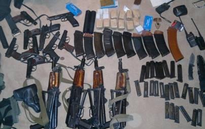 ФОТО: СБУ приостановила компанию диверсантов везших ружье в Киев