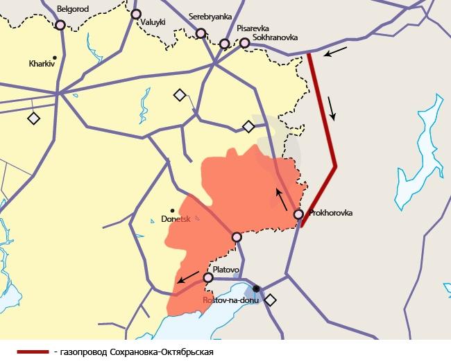 Отчего Украина не отважилась прикрыть газ ДНР/ЛНР