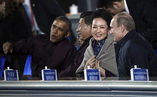ФОТО, ВИДЕО: Как Путин оконфузился на саммите АТЭС в КНР