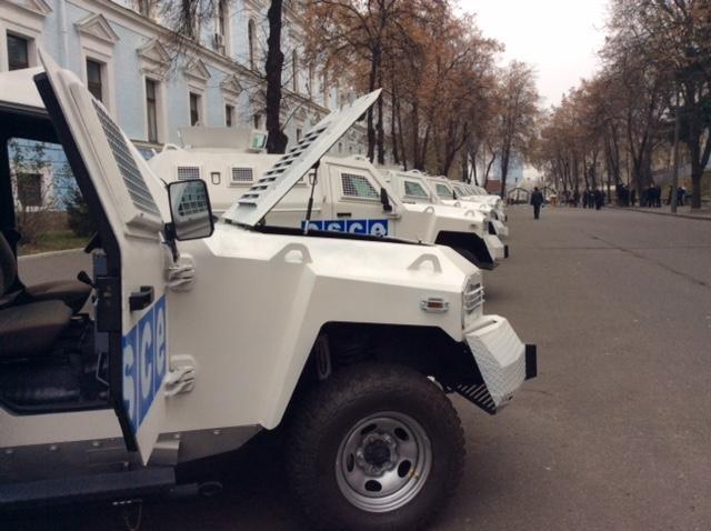 Украина сообщила наблюдателям ОБСЕ бронированные авто