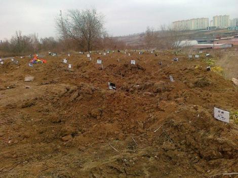 В Ростове на дону обнаружено глобальное захоронение незнакомых людей