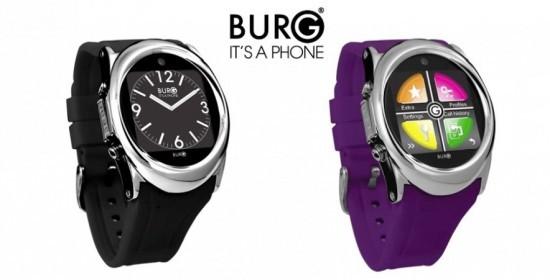 Burg 12 - полновесный телефон в фигуре часов