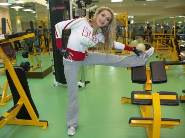 ФОТО: Украинские знаменитости в спортзале