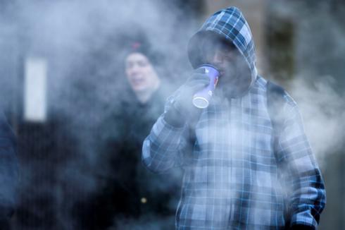 Нью-Йорк во власти снежной стихии (ФОТО)