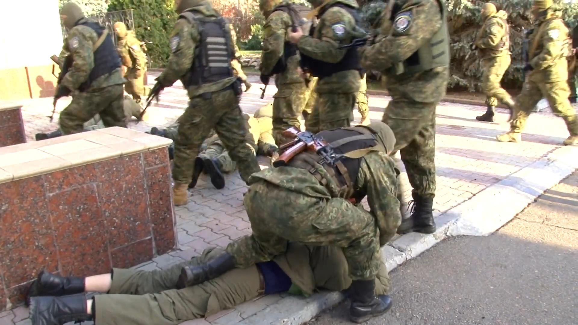 Захват Одесского нефтеперерабатывающего завода (ФОТО, ВИДЕО)