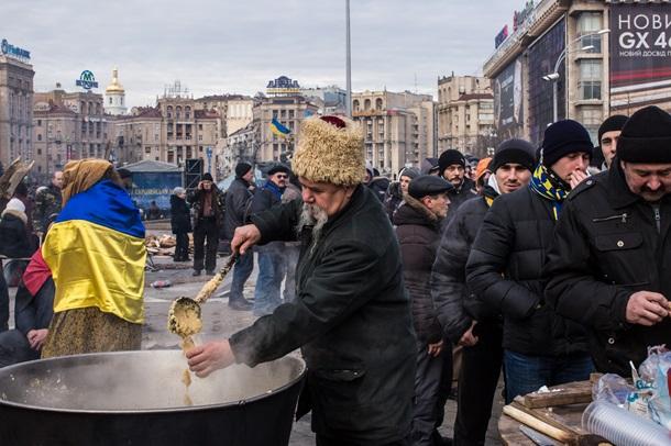 Фотоистория Евромайдана (ФОТО)