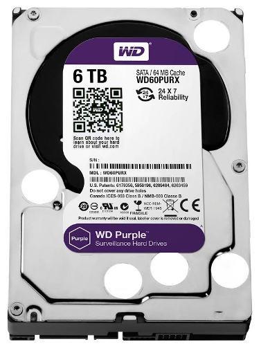 WD Purple - лучшие для систем видеонаблюдения