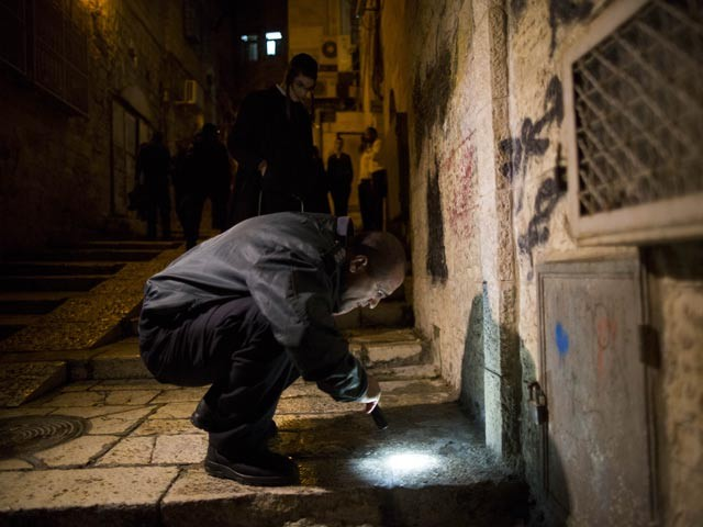 ФОТО: На студентов-евреев в Иерусалиме напали арабы с ножами