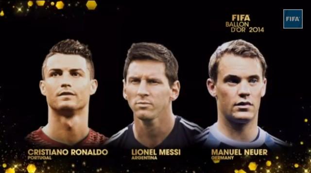 Золотой мяч 2014: Претенденты