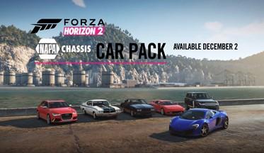 ВИДЕО,ФОТО: автомобиля из DLC NAPA Chassis Pack в Forza Horizon 2