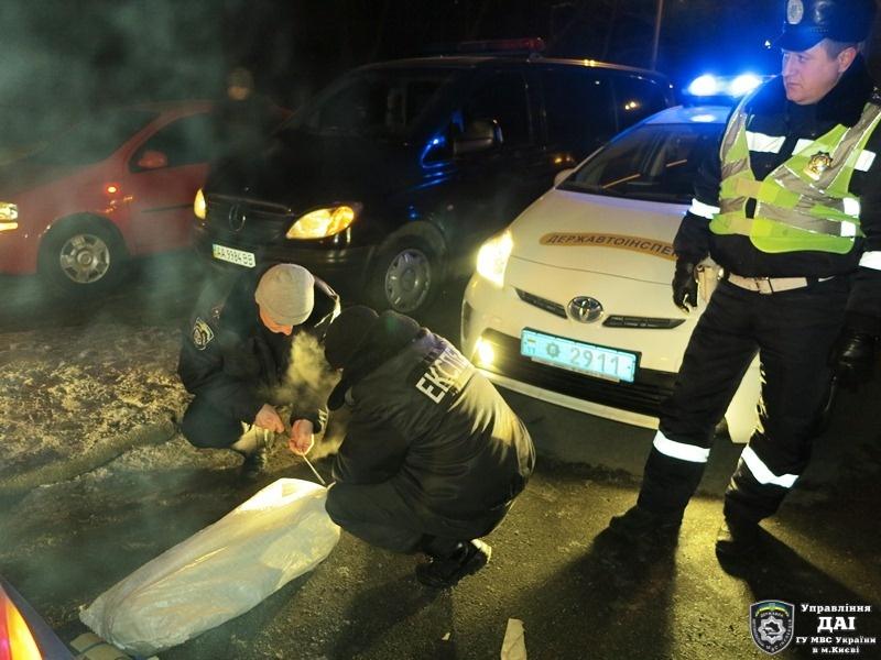 В Киеве приостановили автомашину с гранатометами (ФОТО)