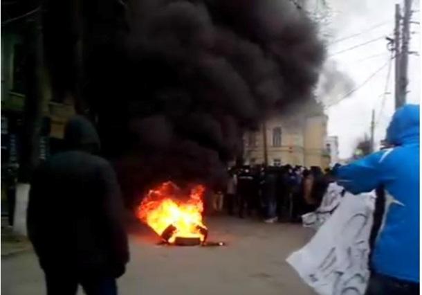 Побоище в Виннице. Пострадали 13 человек (ФОТО, ВИДЕО)