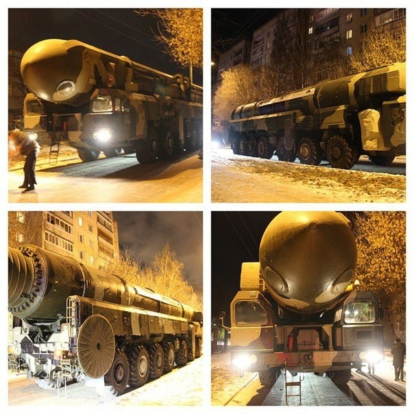В Москве развернули зенитно-ракетный комплекс (ФОТО)