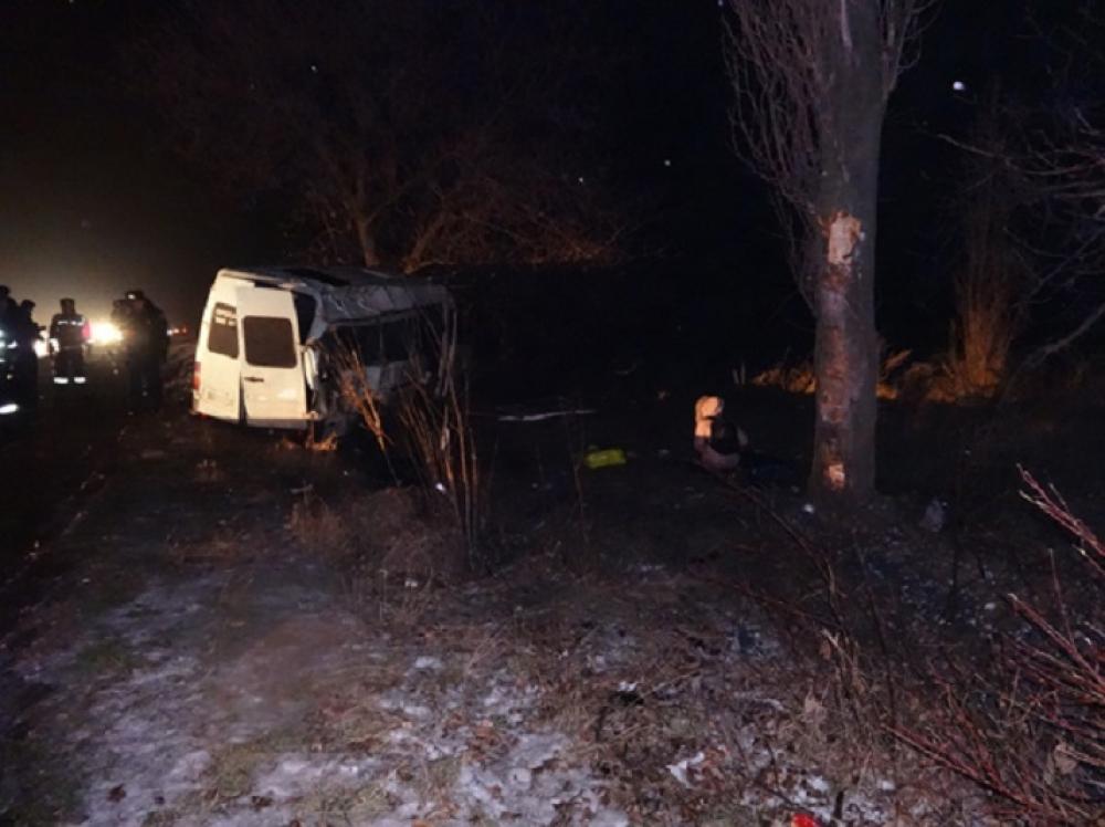 Смертельное ДТП: На трассе Одесса-Рени разбилась маршрутка