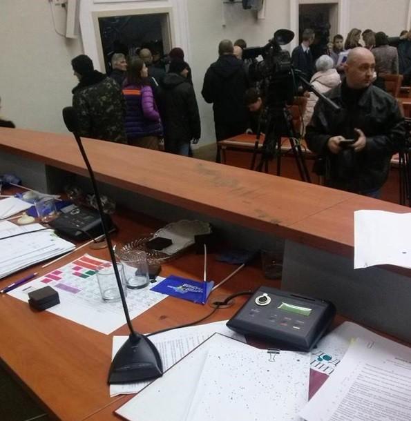 Горсовет Запорожья не проголосовал за отставку мэра