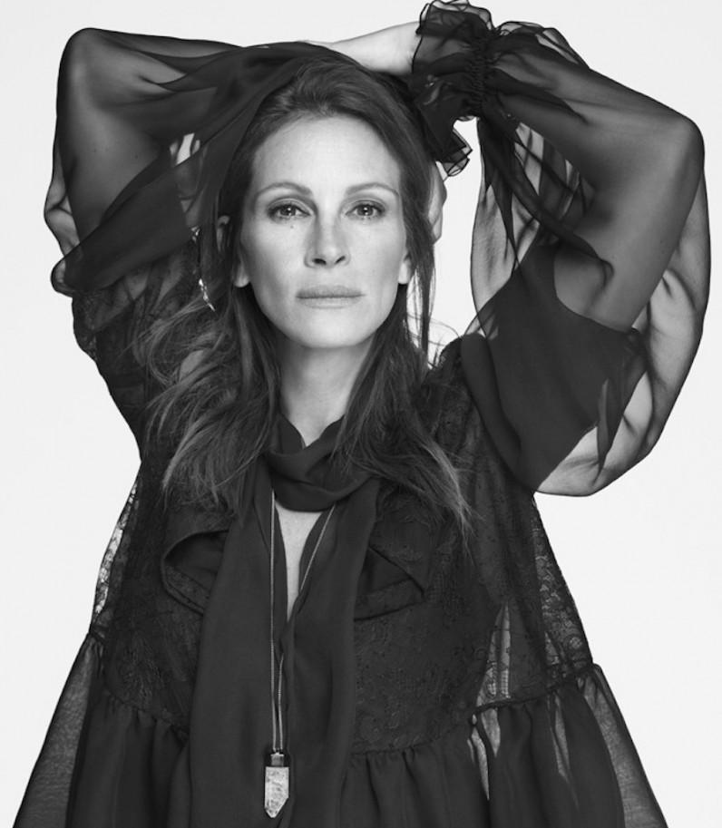 Джулия Робертс стала лицом весенней коллекции Givenchy. ФОТО