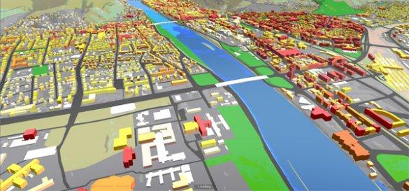 КГГА представит 3D-модель Киева со светофорами и знаками