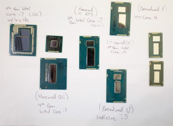 Intel Broadwell-U покажут в январе на CES 2015